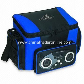 12 or 24 Pack Radio Cooler Bag with Built-in Amplifier