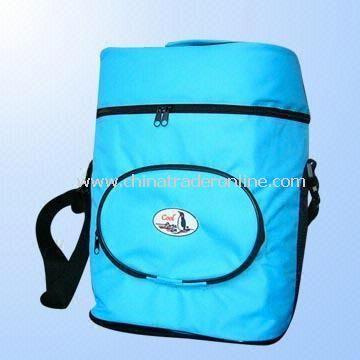 Cooler Bag in Blue Made of 600D PVC