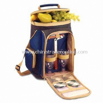 Picnic cooler bags Insulated Picnic Cooler Bag, Suitable for Two Person