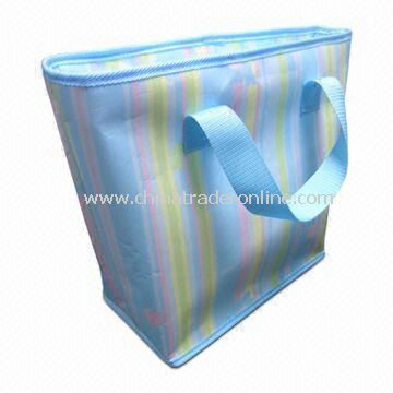 Promotional Cooler/Ice Bag, Suitable for Cool and Hot Items,Customers Designs are Acceptable