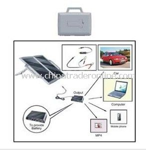 Solar Car Partner, Solar Charger, Solar Portable Power Supply, Charger