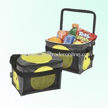 600D Cooler Bag with Smiley Face Design