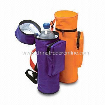 Bottle Cooler Bag with Adjustable Shoulder Strap