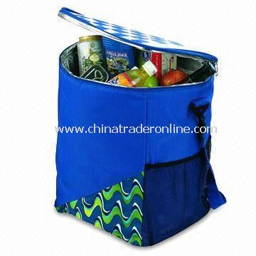 Chess Picnic Cooler Bag with Aluminum Foil Lining and 25L Capacity