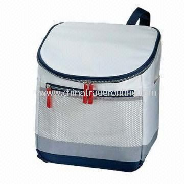 Cooler Bag Made of 420d Nylon with PVC Backing from China