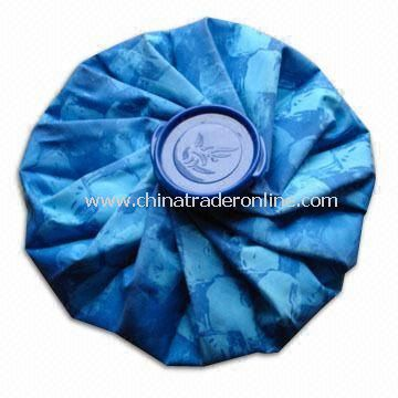 Multicolor Ice Bag with Round Plastic Lid, Suitable for Cold Therapy