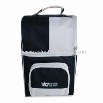Promotional Cooler Bag with PVC Lining and Soft Foam Padding, Measuring 25.5 x 14.5 x 30cm