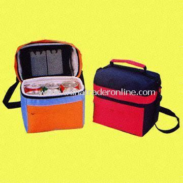 Six-can Cooler Bag with Zipper Top