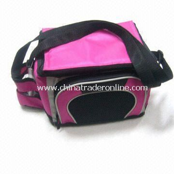 Travel Cooler Bag with Zippered Front Pocket