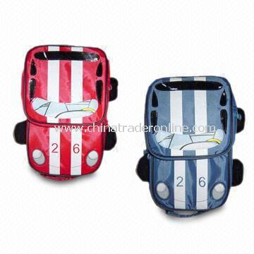 Vogue Car-shaped Cooler Bags, Made of Imitate 70D, Available in Various Colors and Sizes