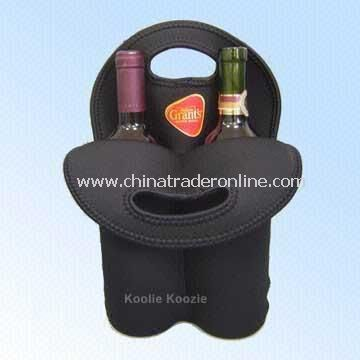 Wine Bottle Cooler Bag with Cut-out Handle from China