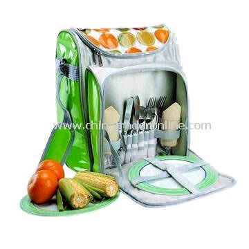 Camping bag(picnic bag) Cooler Bag, Measuring 30 x 21 x 41cm, Suitable for Travelling and Camping