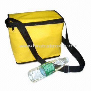 Cooler Bag with Printed Designs, Made of Nonwoven Fabric and EPE Lining