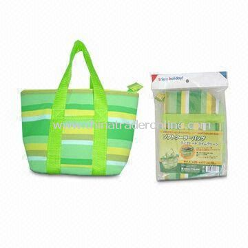 Stylish Polyester Cabinet Lunch Cooler Bag with Capacity of 500ml, Available in Various Colors