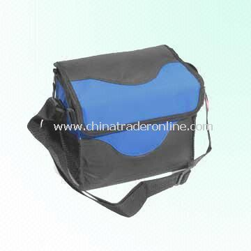 600 Denier Polyester Cooler Bag for Six Cans