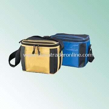 600 Denier Polyester Cooler Bag with Adjustable Shoulder Strap
