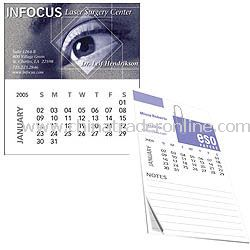 Bic Business Card Magnet with Calendar