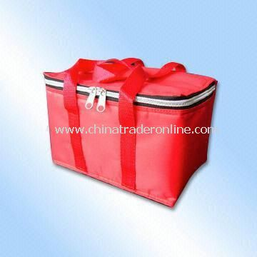 Cooler Bag in Red for Promotion
