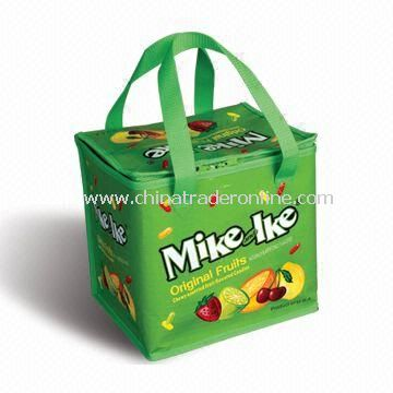 Cooler Bags, Made of Printed PE Woven Cloth, Suitable for Promotional and Gift Purposes