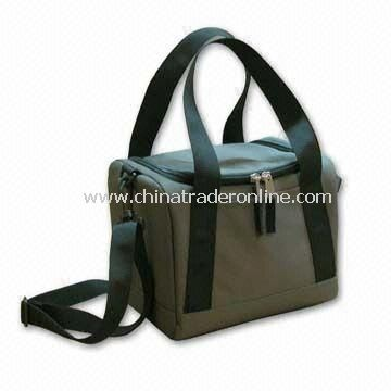 Eco-friendly 6-can Cooler Bag, Made of PET Bottle Recycled Material