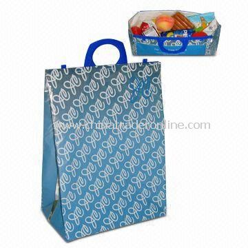 Eye-catching Promotional Cooler/Ice Bag, Easy to Carry, Suitable for Supermarket Shopping