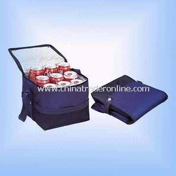 Nine-can Cooler Bag Folds Up Flat