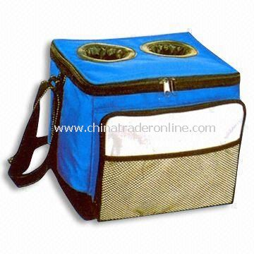 100% Polyester 420D Cooler Bag, Measuring 28 x 28 x 30cm