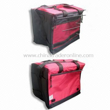 100% Polyester Cooler Bag, Measuring 27 x 16 x 12cm