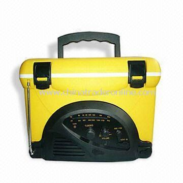 Cooler Bag with Radio, Available in Different Designs and Colors