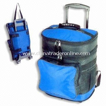Cooler Bag with Trolley, Measuring 29 x 26 x 43cm