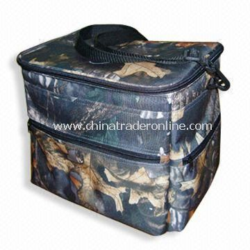 Cooler Bag with Zippered Closure, Measuring 32 x 23 x 26cm