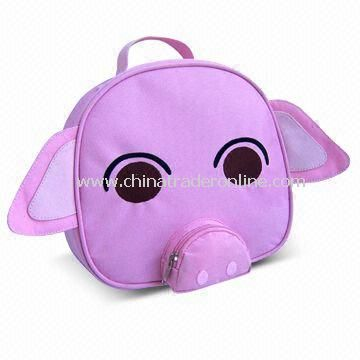 Cute Cooler Bag, Available in Pig-sharp design, Customized Logos are Available