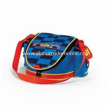 Insualted cooler bags-1 Lunch Cooler Bag with Two Side Pockets for Storing Accessories from China