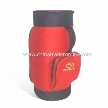 Promotional Cooler/Thermal Bag with Zipper, Made of 600D Polyester with PVC Coating