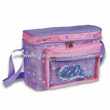 Transparent Front PVC Cooler Bag with Large Zipper Opening, Customized Designs are Welcome
