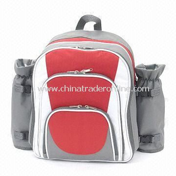 Picnic Cooler Backpack with Detachable Wine Pocket