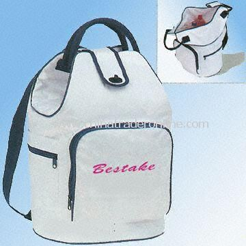PVC Cooler Bag Designed as Fashionable Backpack