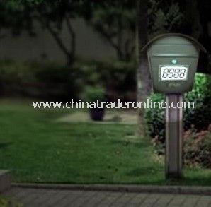 Solar doorplate,Solar House Number, Solar Mail Box
