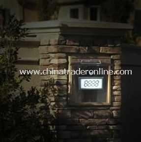 Solar doorplate,Solar House Number