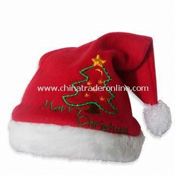 Christmas Hat with 60cm Height, Available in Red from China