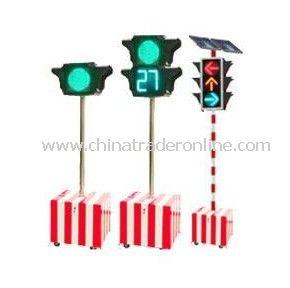 Solar Traffic Signal, Solar Emergency Traffic light