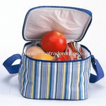 300D Polyester Cooler Bag Measures 22 x 17 x 14cm