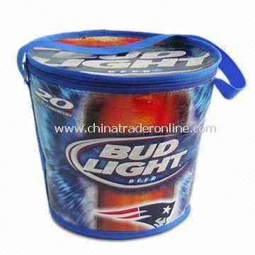 CO-pail Barrel-shaped Cooler Bag, Suitable for Promotion and Gift, Customized Designs are Acceptable