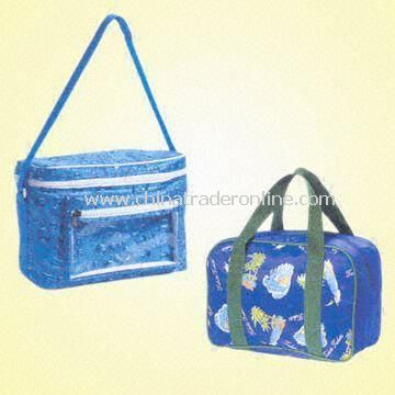 Colorful Cooler Bags Made from Nylon, Polyester and PVC
