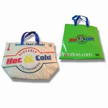 Cooler Bag, Made of PE with Foam Insulation, Various Colors are Available