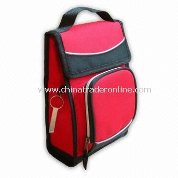 Cooler Bag with Bottle Opener, Made of 600D Polyester