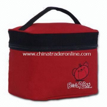 Cooler Lunch Bag Made of Soft Nap Fabric