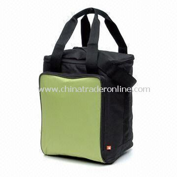 Fashion Cooler Bag with Insulated Main Compartment and Webbing Handles