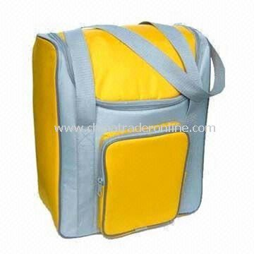 Picnic Cooler Bag with Sliver Lining, Made of PVC