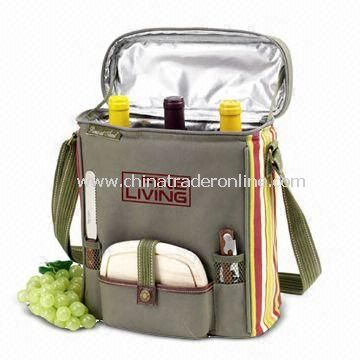 Picnic cooler bags-1 Insulated Picnic Cooler Bag with Water-resistant Lining